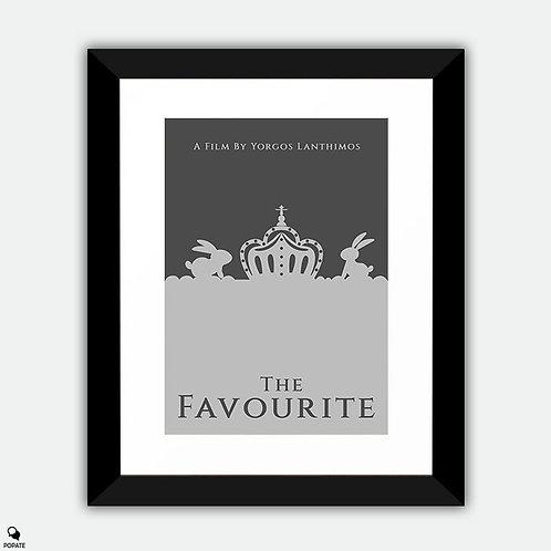 The Favourite Minimalist Framed Print