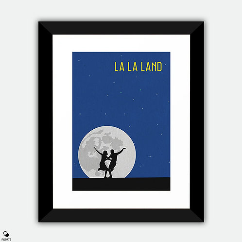 La La Land Minimalist Framed Print