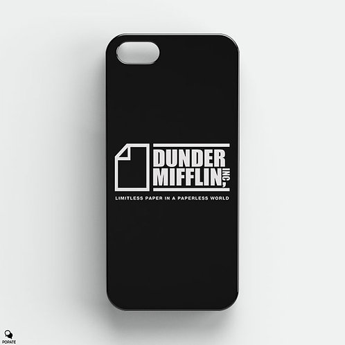 Dunder Mifflin Alternative iPhone Case from The Office