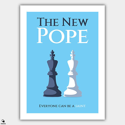 The New Pope Minimalist Poster