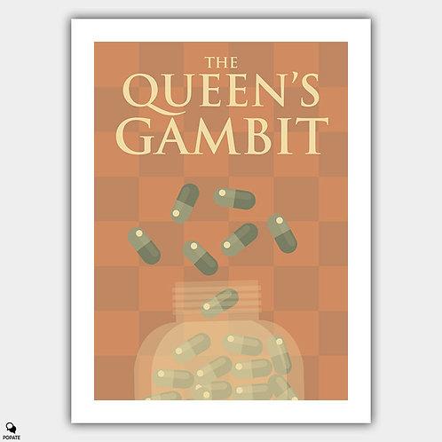 The Queen's Gambit Minimalist Poster