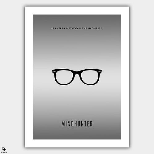 Mindhunter Minimalist Poster - Kemper