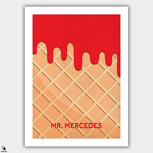 Mr. Mercedes Minimalist Poster