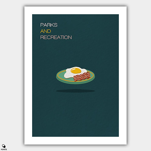 Parks And Recreation Minimalist Poster