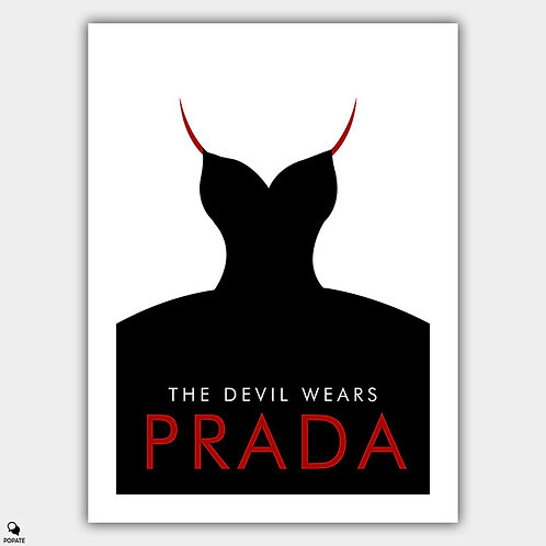 The Devil Wears Prada Minimalist Poster #2