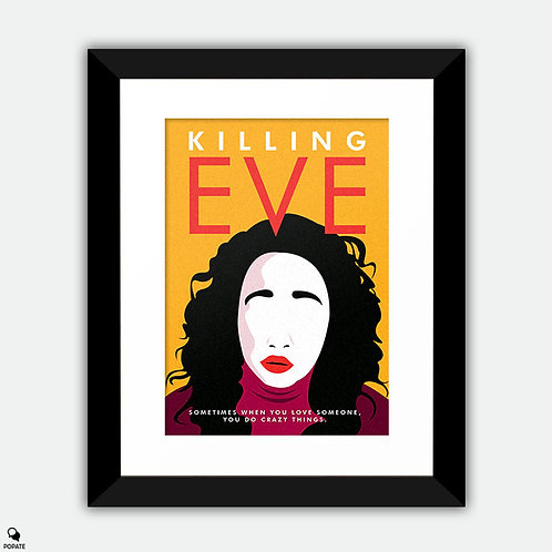 Killing Eve Alternative Framed Print