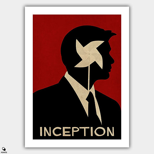 Inception Vintage Poster - Energy