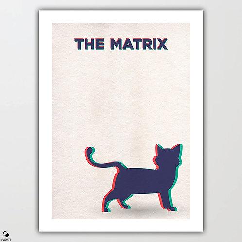 The Matrix Minimalist Poster - Deja Vu