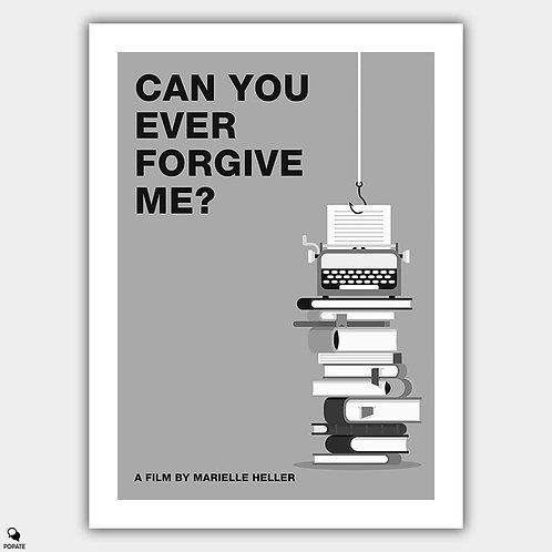 Can You Ever Forgive Me? Minimalist Poster