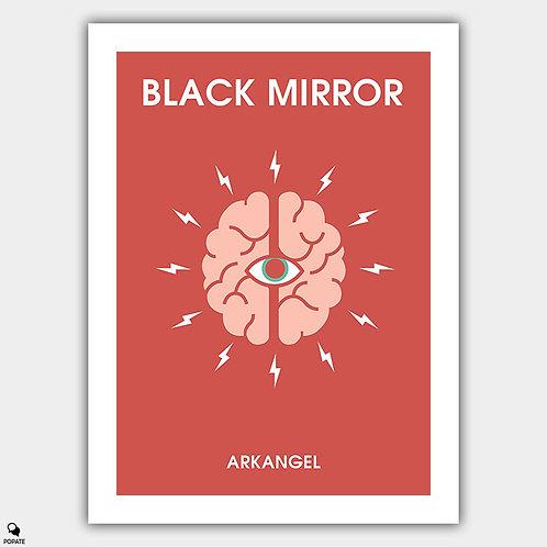 Black Mirror Minimalist Poster - Arkangel