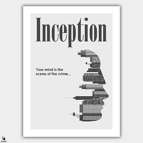 Inception Minimalist Poster - Scene of Crime