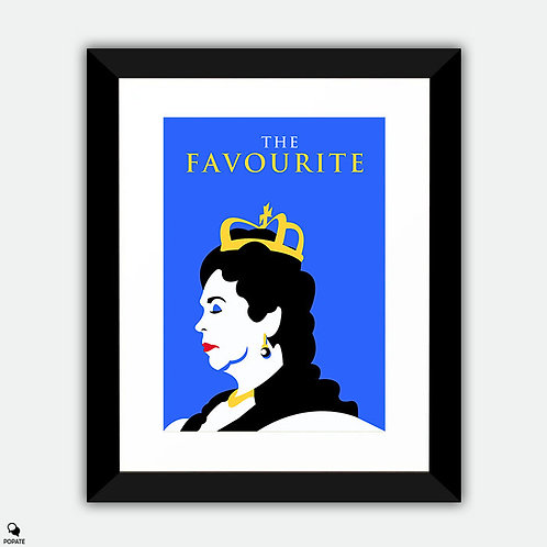 The Favourite Minimalist Framed Print - Queen Anne
