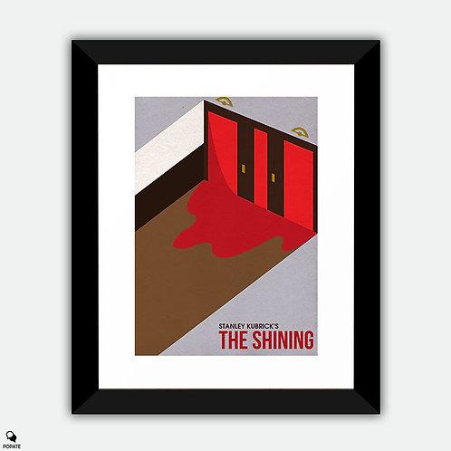The Shining Minimalist Isometric Framed Print