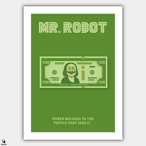 Mr. Robot Alternative Poster - Power