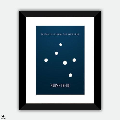 Prometheus Minimalist Framed Print