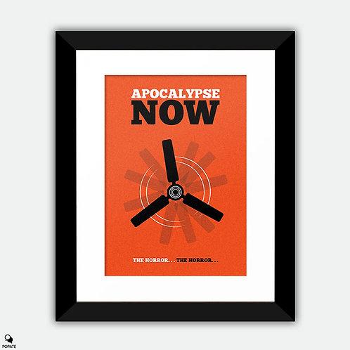 Apocalypse Now Minimalist Framed Print - Ceiling Fan