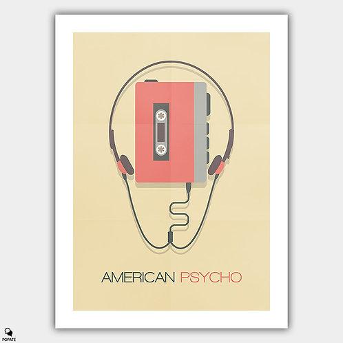 American Psycho Alternative Poster - Cassette Player