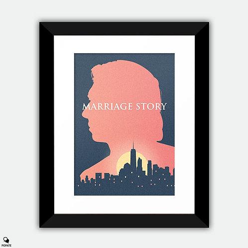 Marriage Story Alternative Framed Print - Charlie