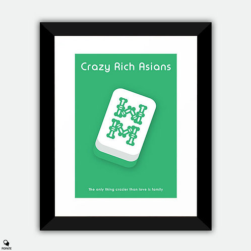 Crazy Rich Asians Minimalist Framed Print