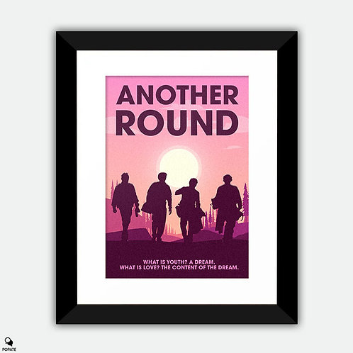 Another Round Minimalist Framed Print