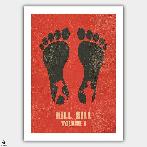 Kill Bill Vol. 1 Vintage Letterpress Poster
