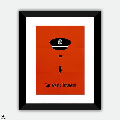 The Great Dictator Minimalist Framed Print
