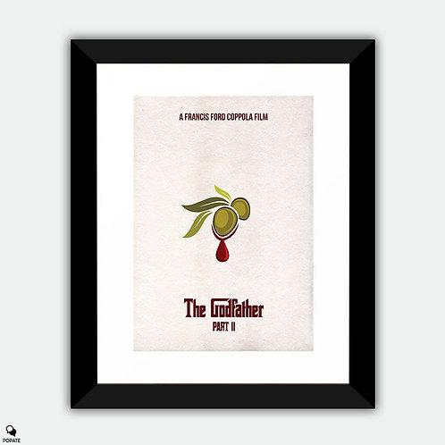 The Godfather Part II Minimalist Framed Print