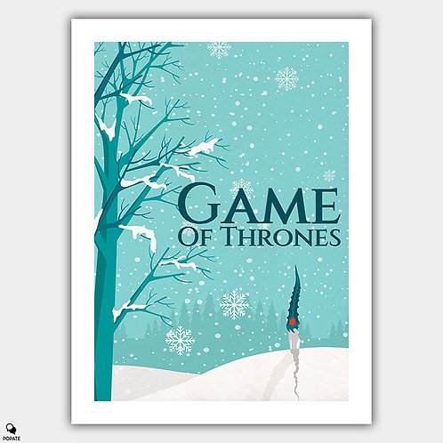 Game of Thrones Minimalist Poster - Not Today