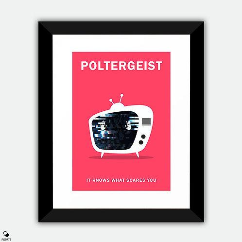 Poltergeist Minimalist Framed Print
