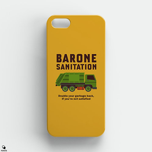 Barone Sanitation Alternative iPhone Case from The Sopranos