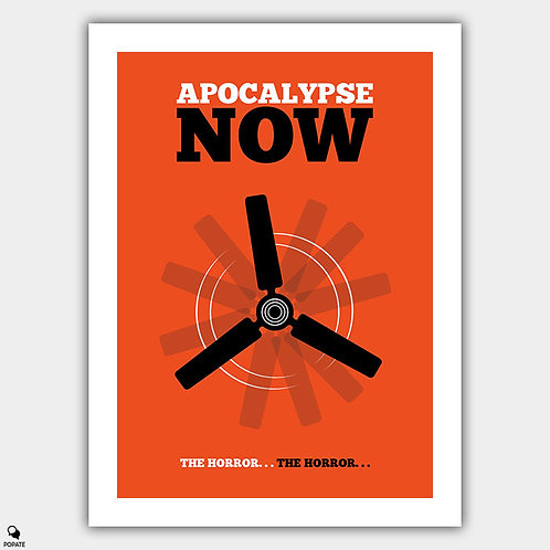 Apocalypse Now Minimalist Poster - Ceiling Fan