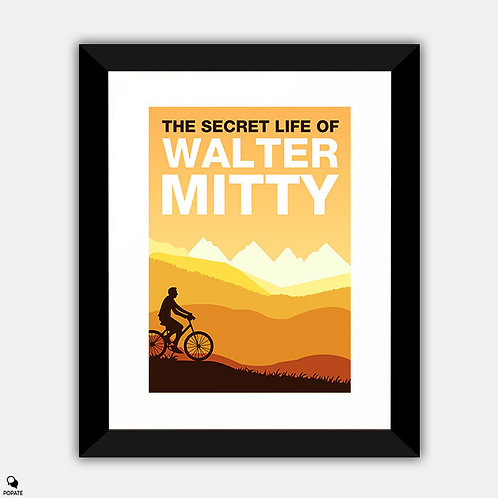The Secret Life of Walter Mitty Minimalist Framed Print