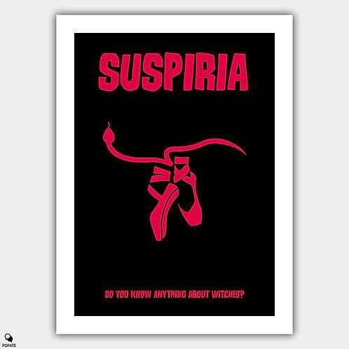Suspiria Minimalist Poster