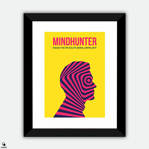 Mindhunter Minimalist Alternative Framed Print
