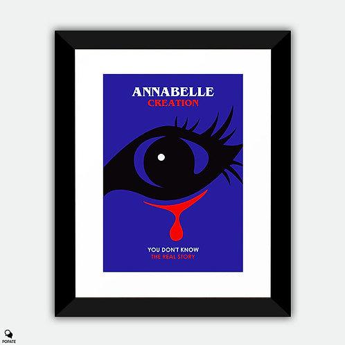 Annabelle Creation Minimalist Framed Print