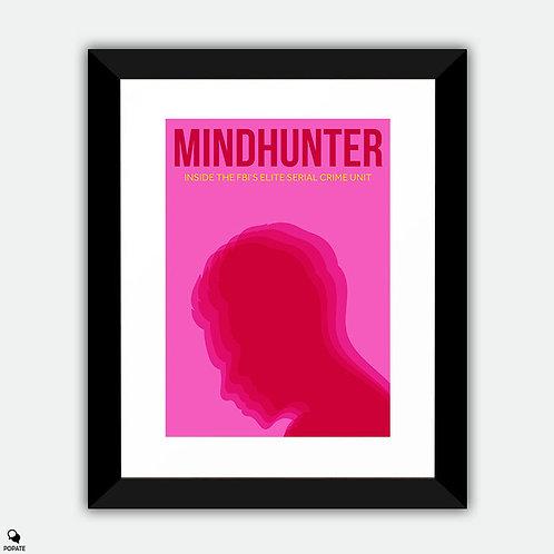 Mindhunter Minimalist Framed Print - Cerebral