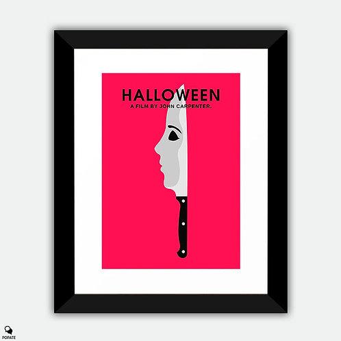 Halloween Minimalist Framed Print
