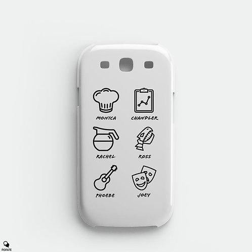 Friends Alternative Galaxy Phone Case