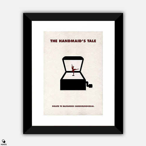 The Handmaid's Tale Minimalist Framed Print - The Girl In The Box