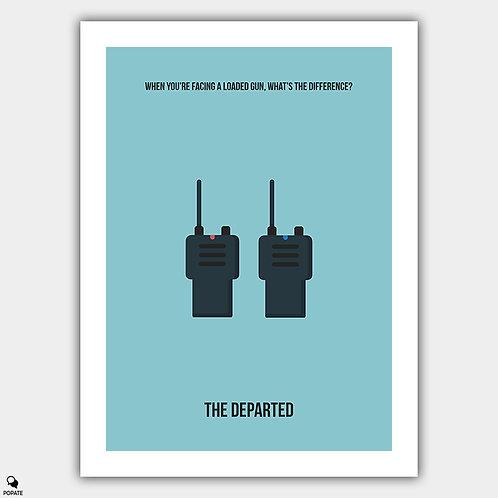 The Departed Minimalist Poster - Walkie Talkies