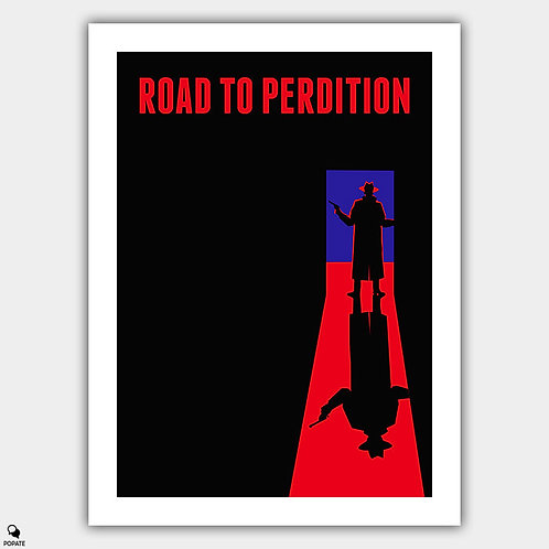 Road to Perdition Minimalist Poster - The Mob