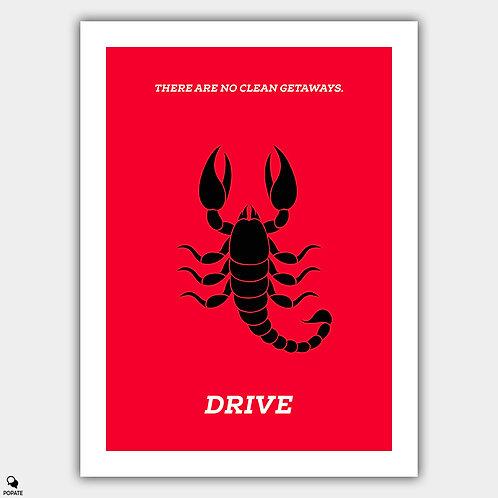 Drive Minimalist Poster