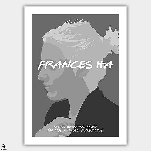 Frances Ha Minimalist Poster