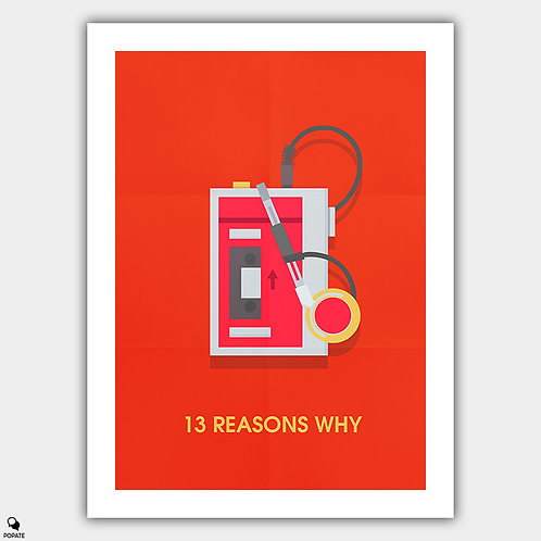 13 Reasons Why Minimalist Poster