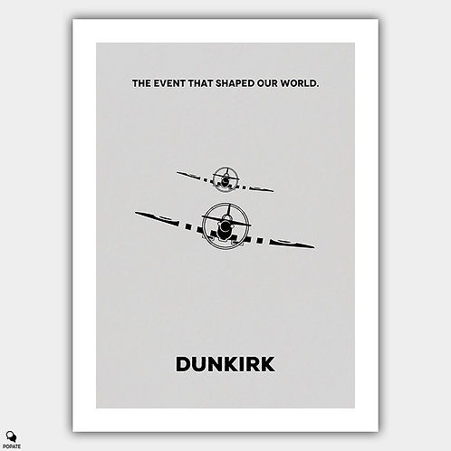 Dunkirk Minimalist Poster - Spitfire