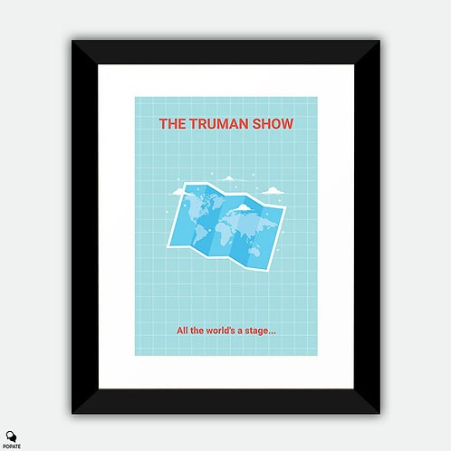 The Truman Show Minimalist Framed Print