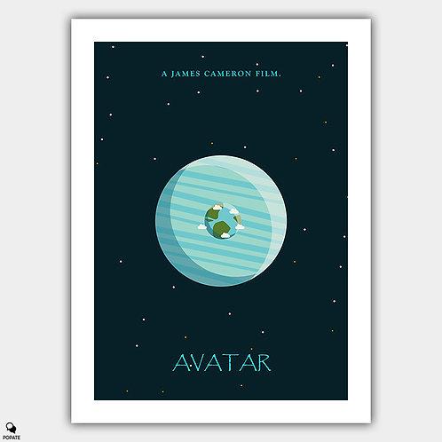 Avatar Minimalist Poster