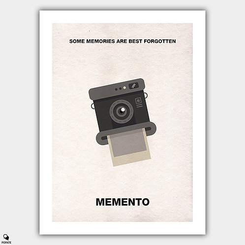 Memento Minimalist Poster - Camera