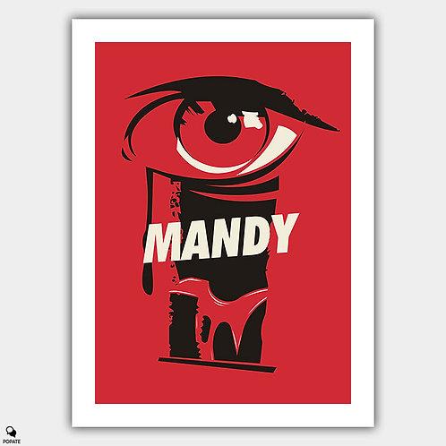Mandy Vintage Poster