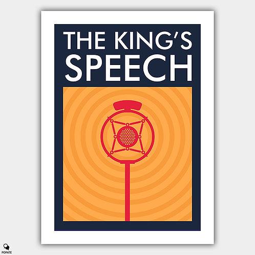 The King's Speech Alternative Minimalist Poster